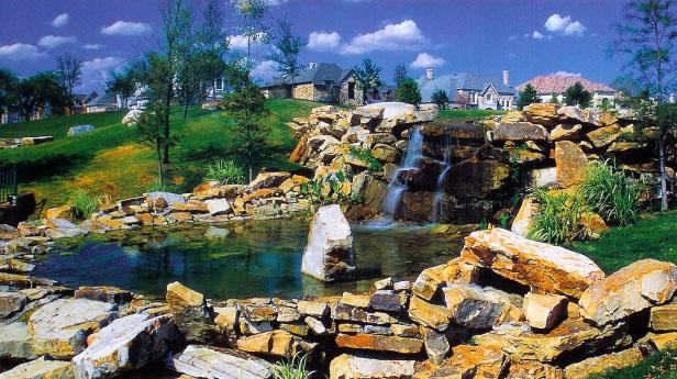 Sculptures > Waterfall Design